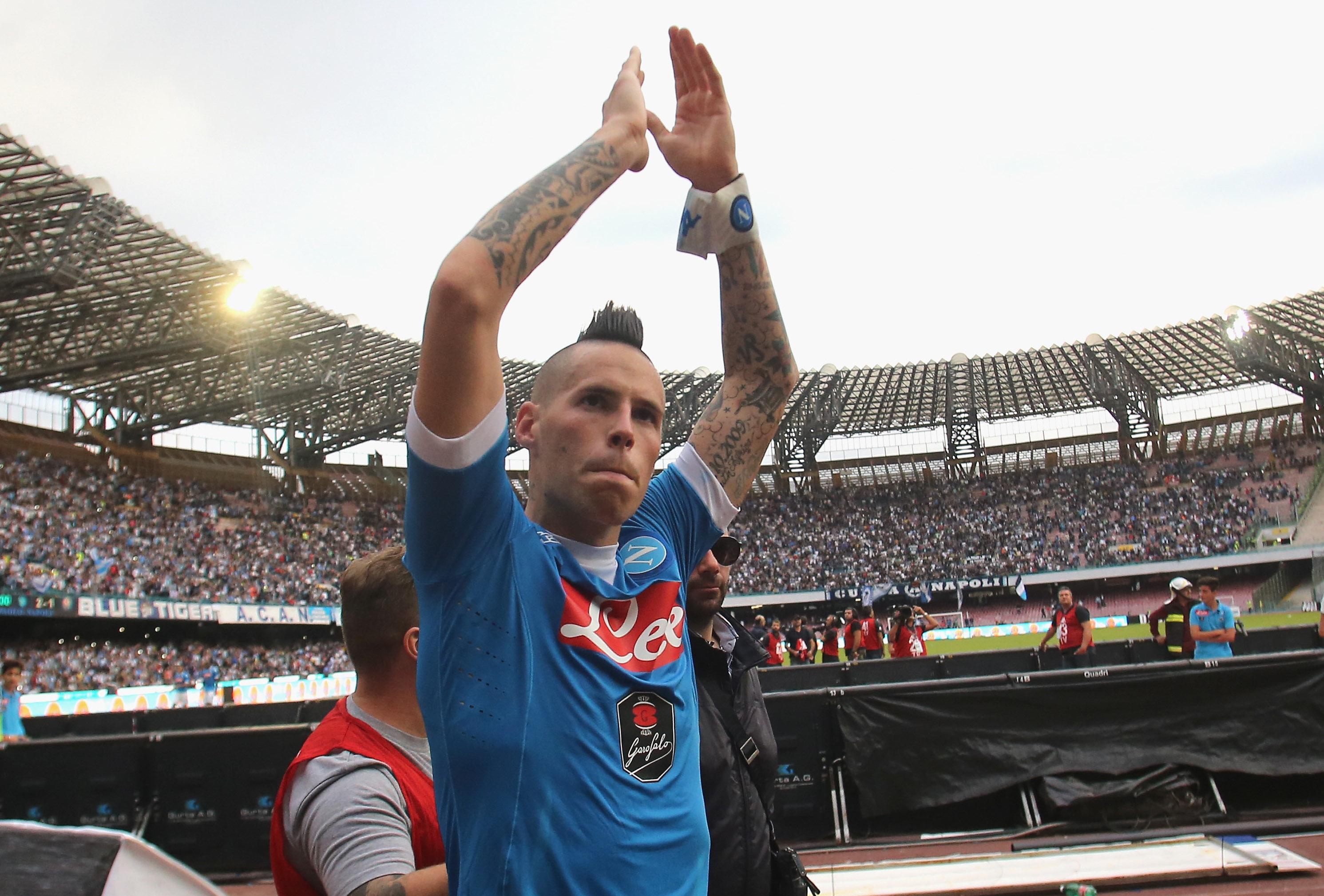 """Hamsik: """"Non ho bisogno di clausole, i napoletani mi amano e io resto qui. Ho rifiutato Milan e Juve"""""""