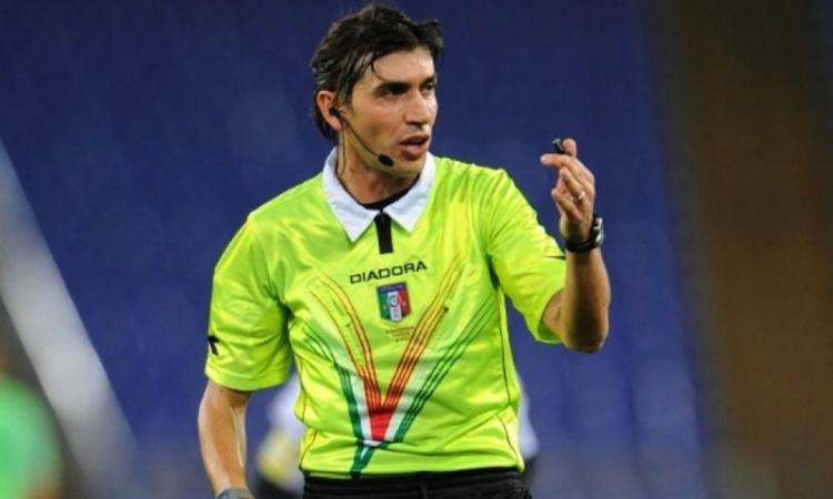 Cagliari-Napoli, arbitra Gianpaolo Calvarese