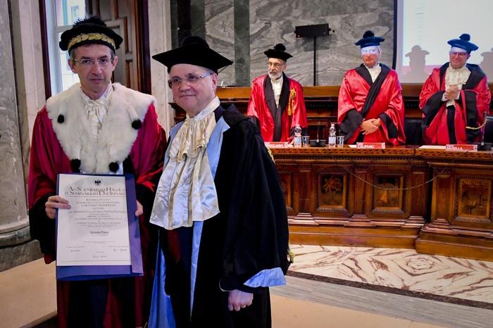 A Ignazio Visco laurea honoris causa a Napoli
