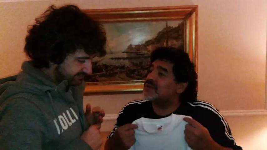 Maradona al San Carlo diretto da Alessandro Siani
