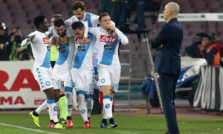 Napoli da urlo, travolge 3-0 l'Inter e si carica per Lisbona