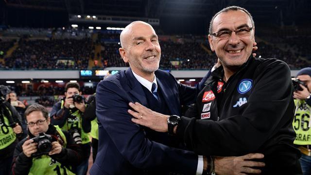 """Inter, Pioli: """"Contro il Napoli certi errori non puoi permetterteli"""""""