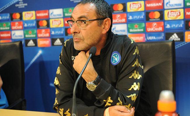 """Sarri: """"Col Benfica non per il pari. Ho la faccia di c... per dire che giocherò anche gare più importanti"""""""