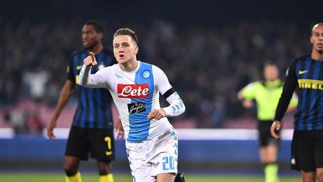 """Zielinski: """"Con l'Inter prestazione bellissima, dobbiamo continuare così"""""""