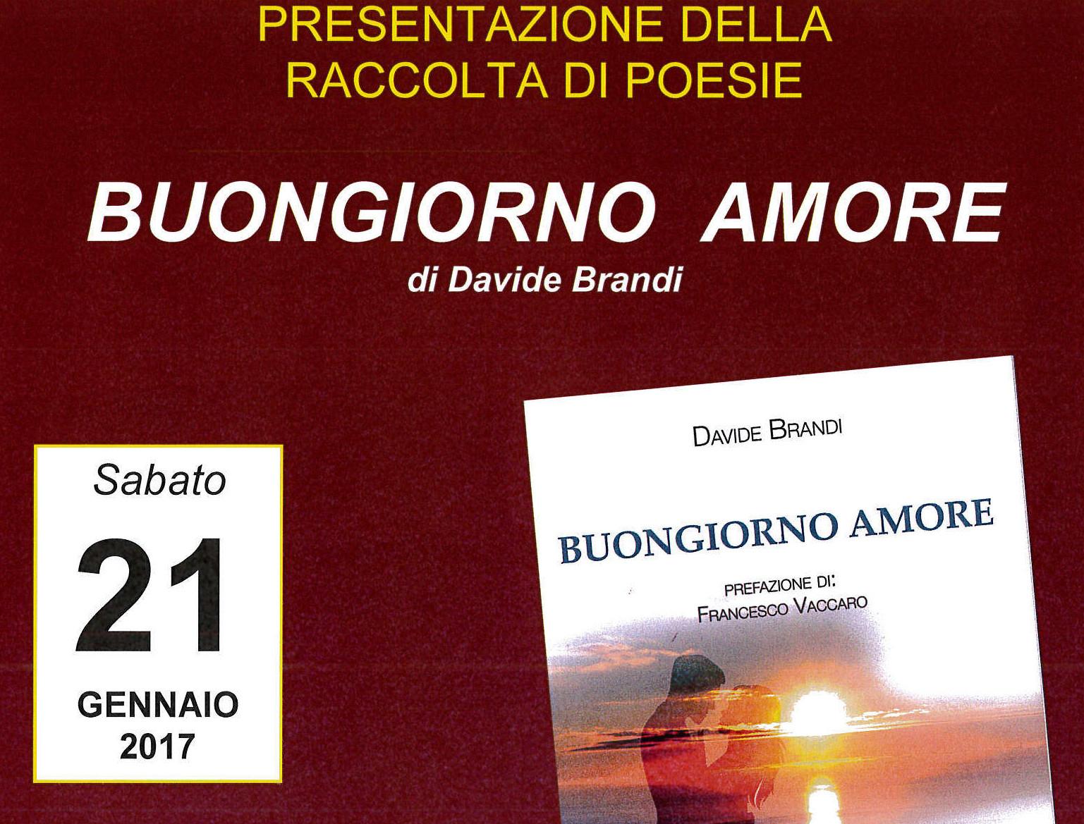 Davide Brandi: presentazione della raccolta di poesie a Palazzo Venezia