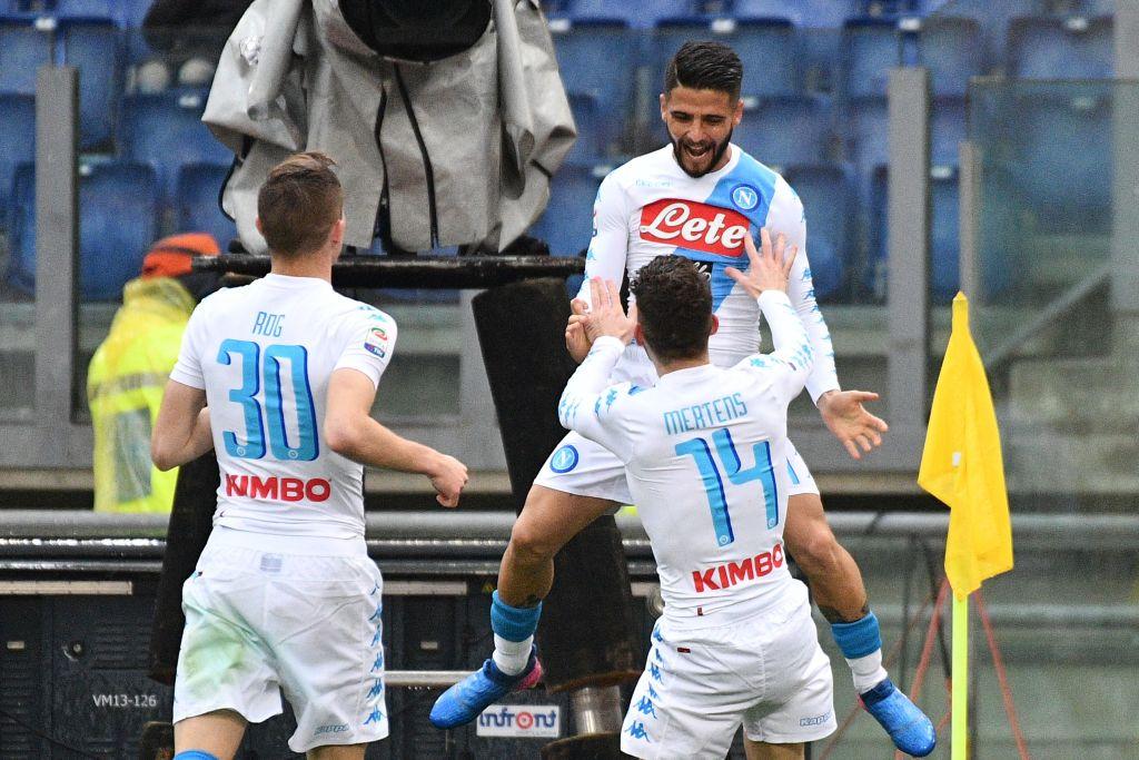 Napoli matematicamente in Champions grazie alla sconfitta della Lazio