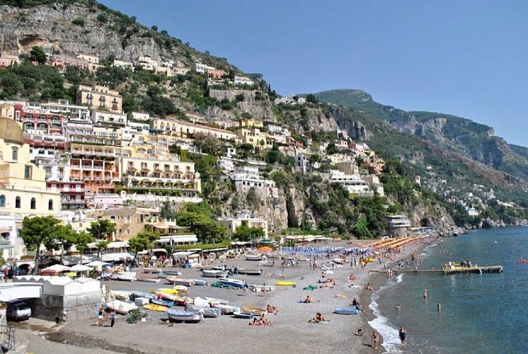 Spiagge italiane più belle: Positano nella hit