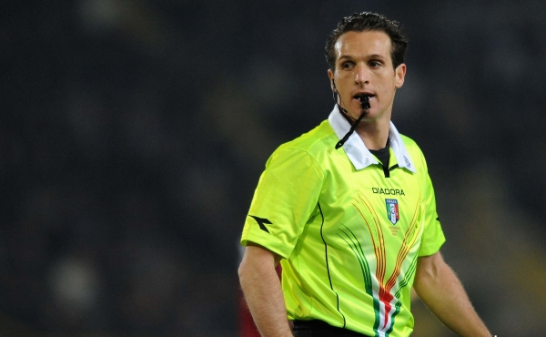 Banti arbitra Napoli-Juventus in Coppa Italia
