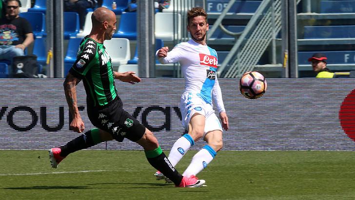 Sassuolo-Napoli 2-2: Mertens e Milik non bastano. Fallisce il sorpasso alla Roma