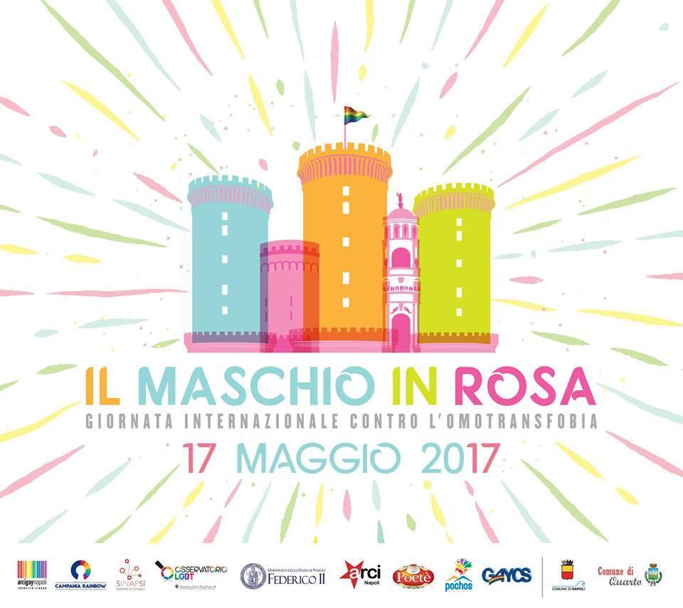 Programma della Giornata internazionale contro l'omofobia: il Maschio Angioino si tinge di rosa