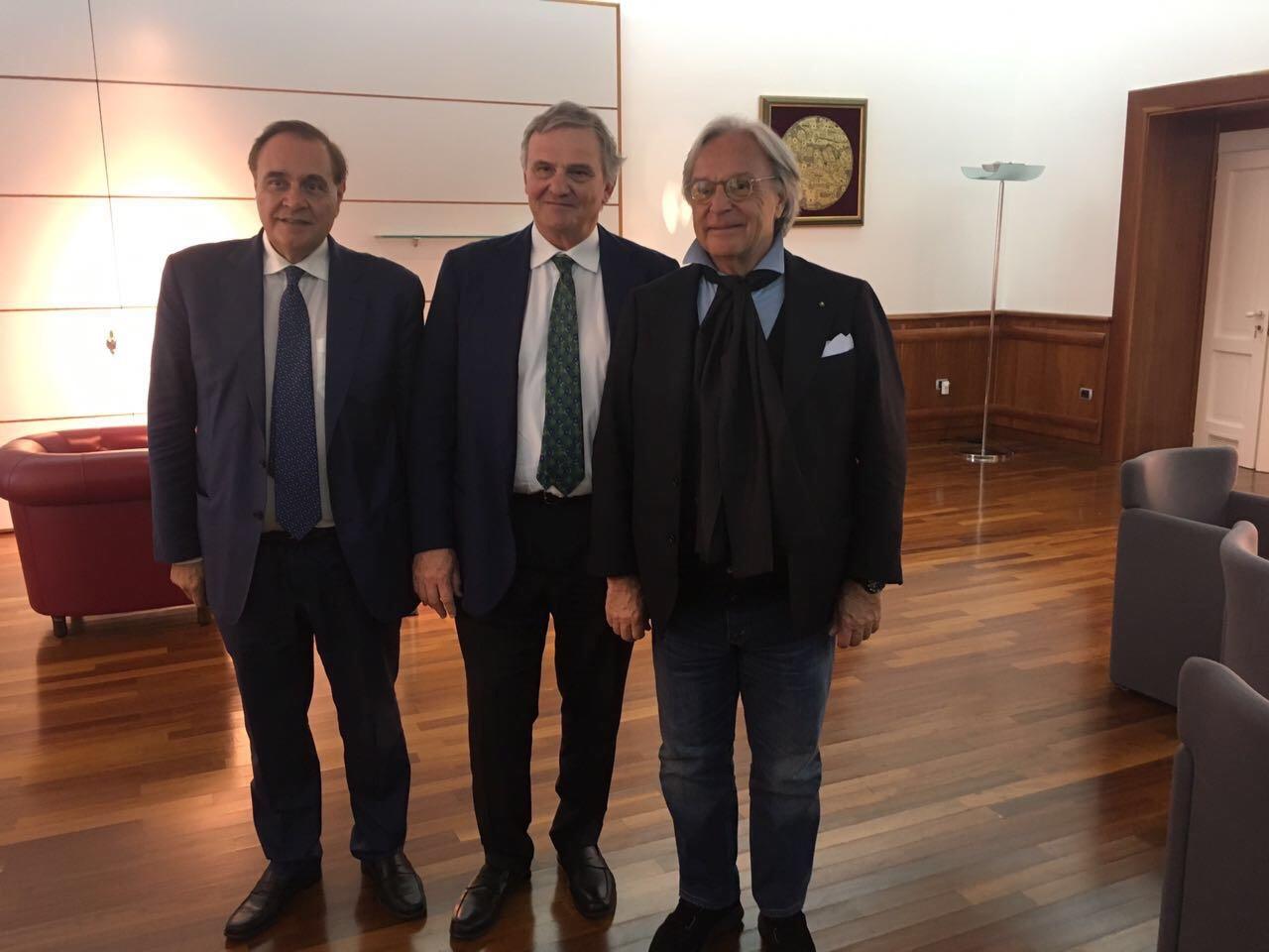 """Della Valle: """"Se investiremo al Sud, il Sannio sarà la prima scelta"""""""