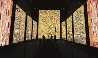 Klimt Experience: uno spettacolo multimediale nella Basilica dello Spirito Santo