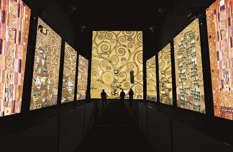 Al via la Klimt Experience, per tutta l'estate a Caserta