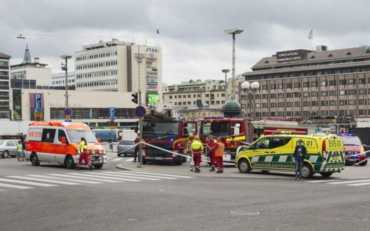 Finlandia: 8 persone ferite, due morti. Fermato un uomo