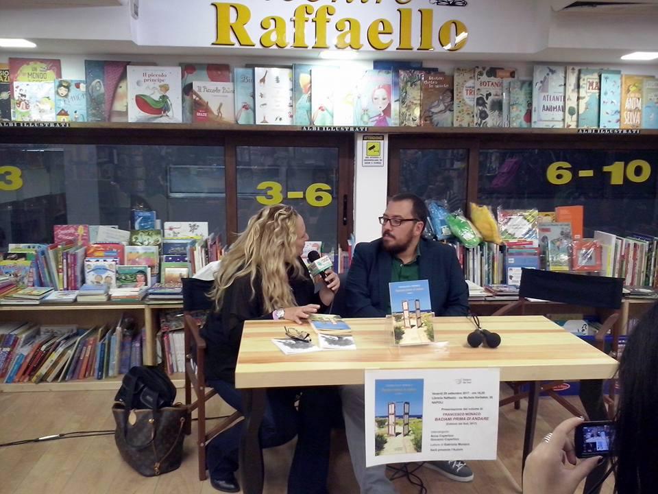 Presentazione 'Baciami prima di andare', intervista all'autore Francesco Monaco (VIDEO)