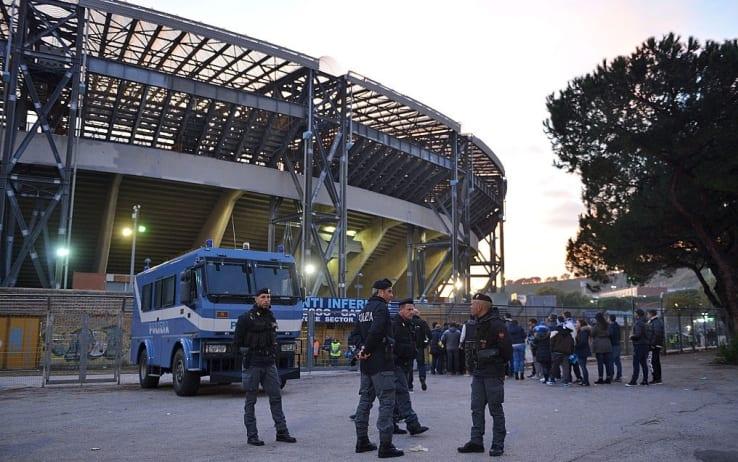 Napoli-Manchester City, tifosi inglesi aggrediti in città