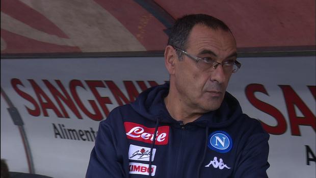 "Napoli, Sarri: ""Parole De Laurentiis? Ho la coscienza a posto"""