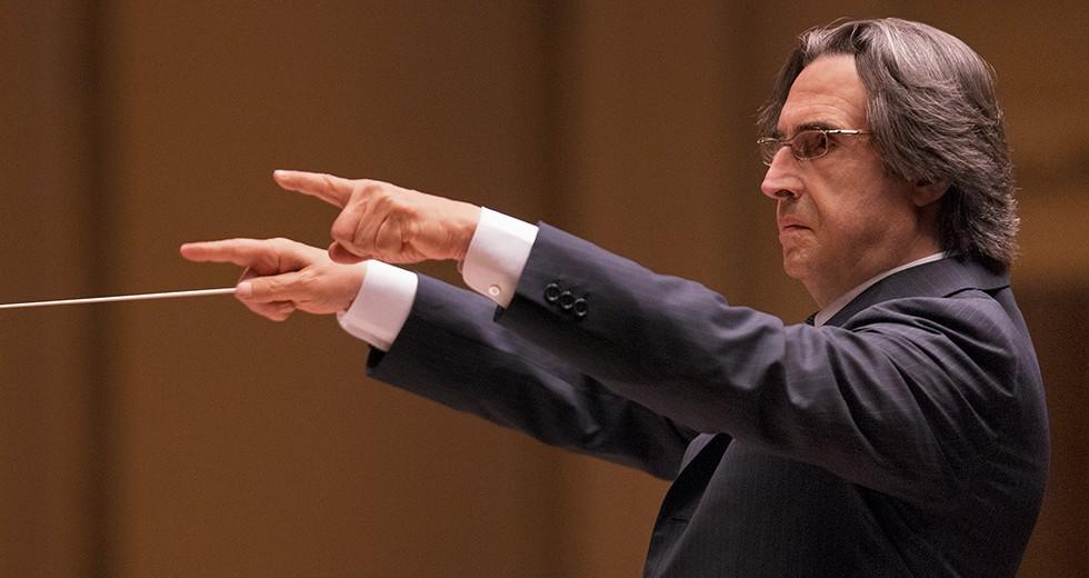 """Il maestro Riccardo Muti: """"Sono stanco dell'immagine falsata di Napoli"""""""