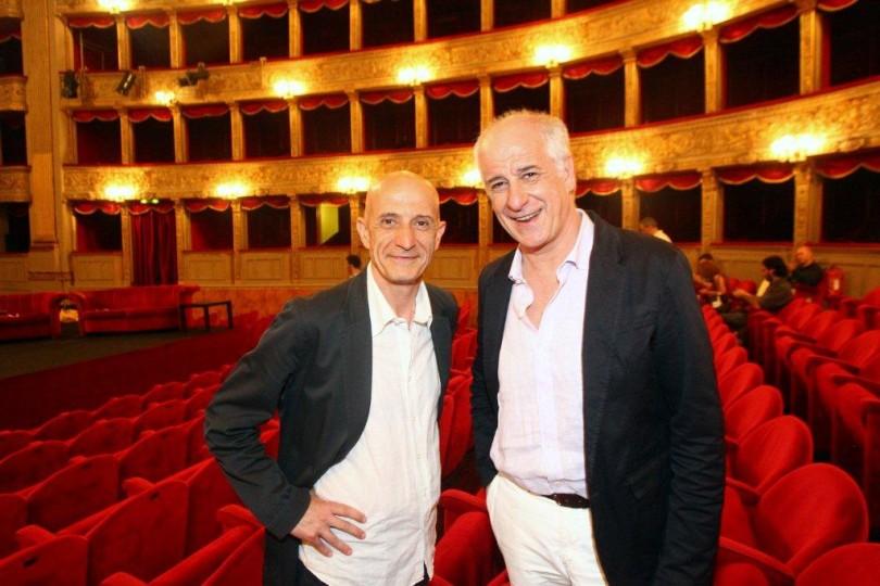 Al teatro Diana trionfo per Toni e Peppe Servillo con 'La parola canta'