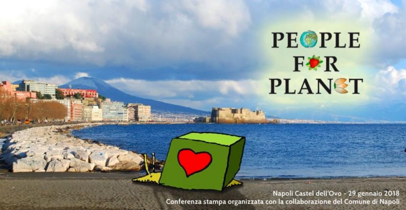 People for Planet: la conferenza stampa a Castel dell'Ovo