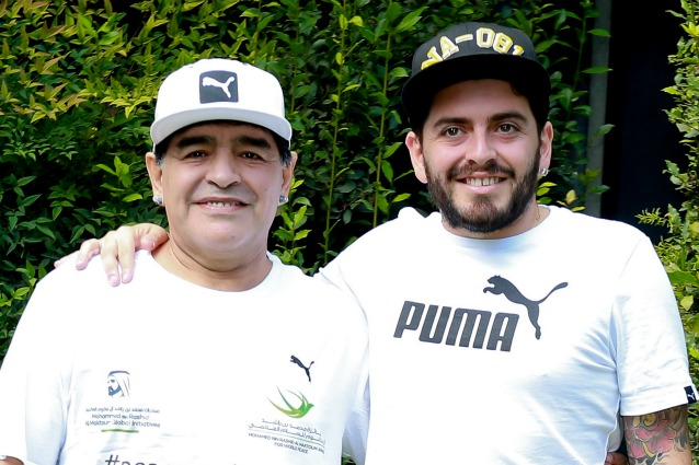 Maradona candidato, Diego jr attacca lo zio Hugo