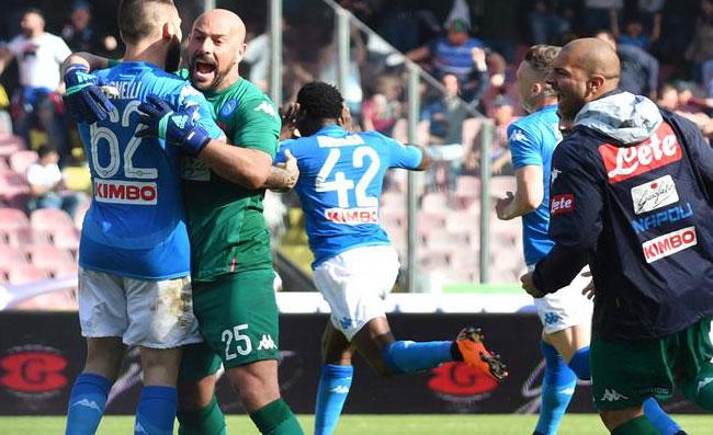 I numeri del Napoli dopo la vittoria allo scadere contro il Chievo