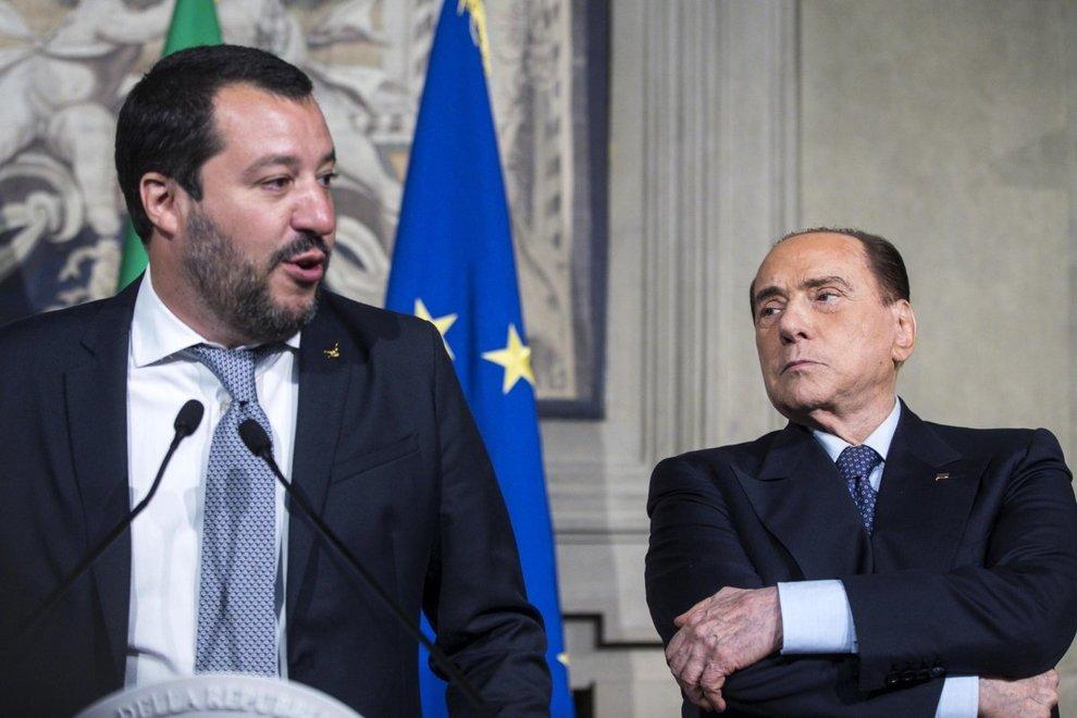 """Berlusconi: """"Accordo tra Salvini e Di Maio non mette fine ad alleanza Lega-Fi"""""""