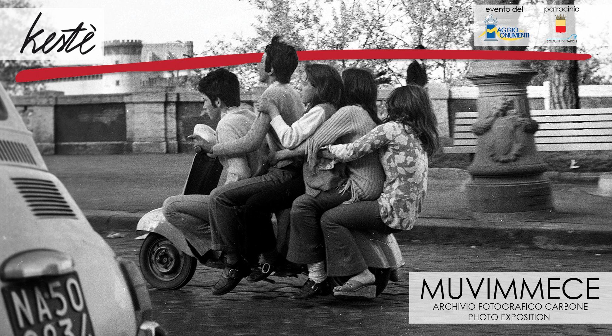 'Muvimmece', la mostra fotografica che racconta i trasporti a Napoli 50 anni fa