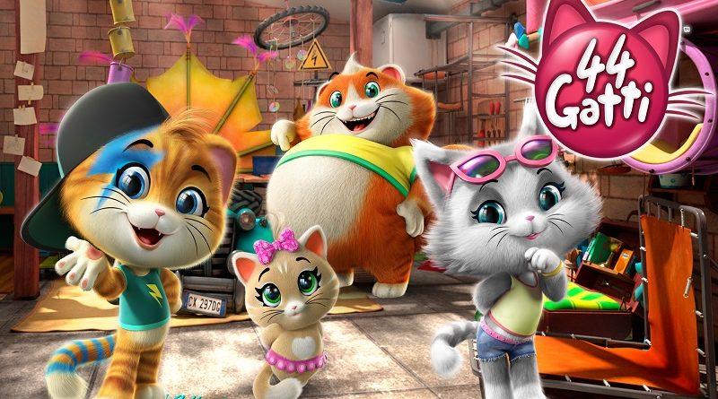 """Giffoni Film Festival: """"44 Gatti"""", il cartone animato, presentato alla 48ma edizione"""