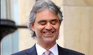 Andrea Bocelli al teatro San Carlo di Napoli