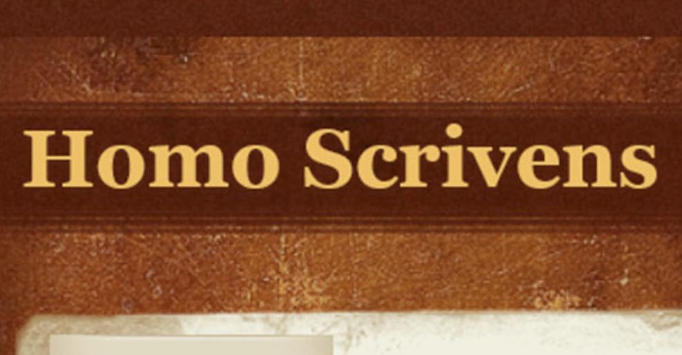 Homo Scrivens