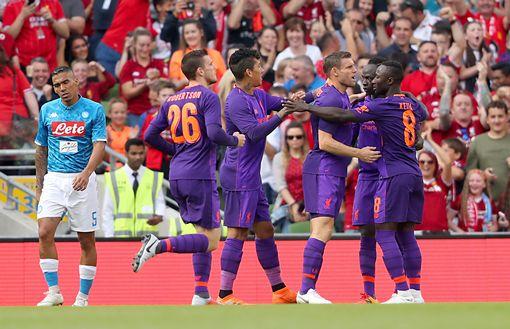 Liverpool-Napoli 5-0, pesante sconfitta in amichevole per gli azzurri