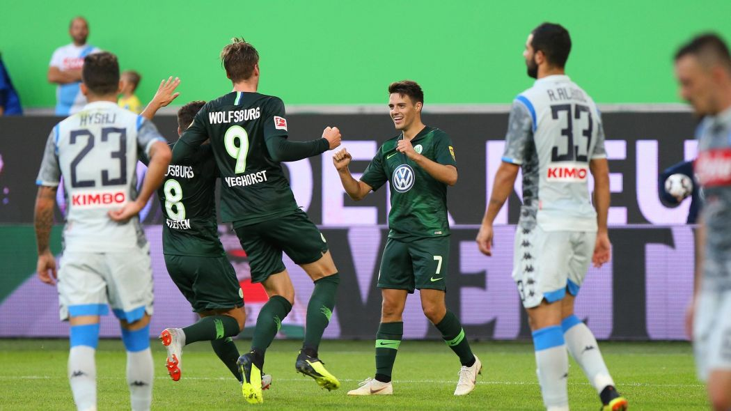 Amichevole, Wolfsburg-Napoli 3-1: troppi errori per gli azzurri