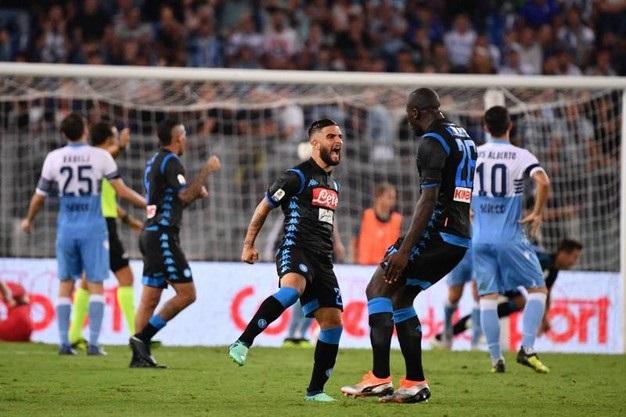Lazio-Napoli 1-2, buona la prima per Ancelotti