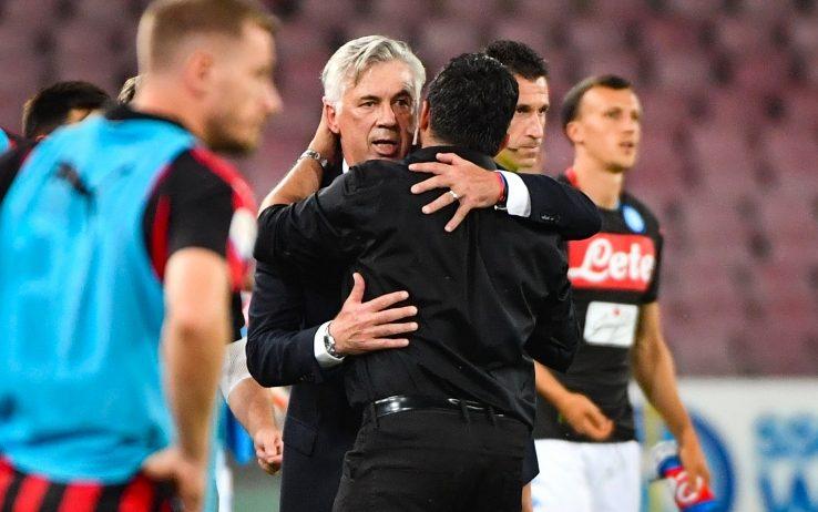 """Ancelotti: """"Non bene nel primo tempo, ma vincere così dà grande soddisfazione"""""""