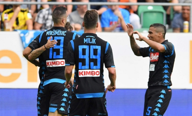 Amichevole a San Gallo, Napoli-Borussia Dortmund 3-1