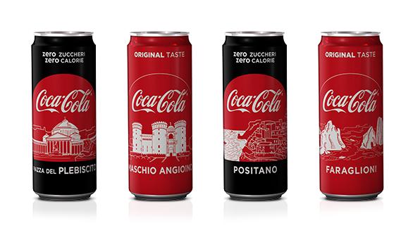 coca-cola omaggia la campania
