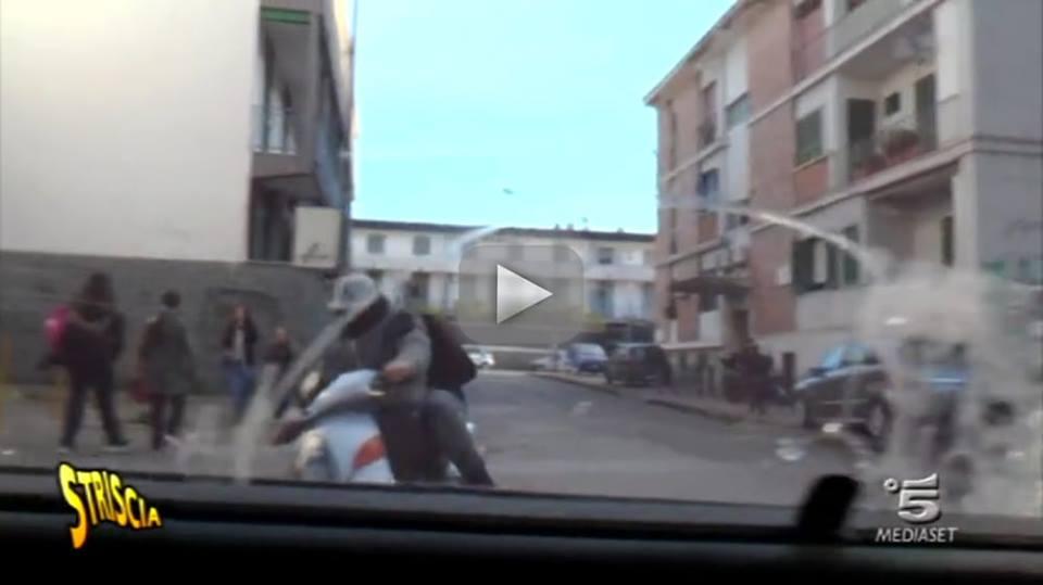 Aggressione a troupe di 'Striscia', arrestati tre giovanissimi