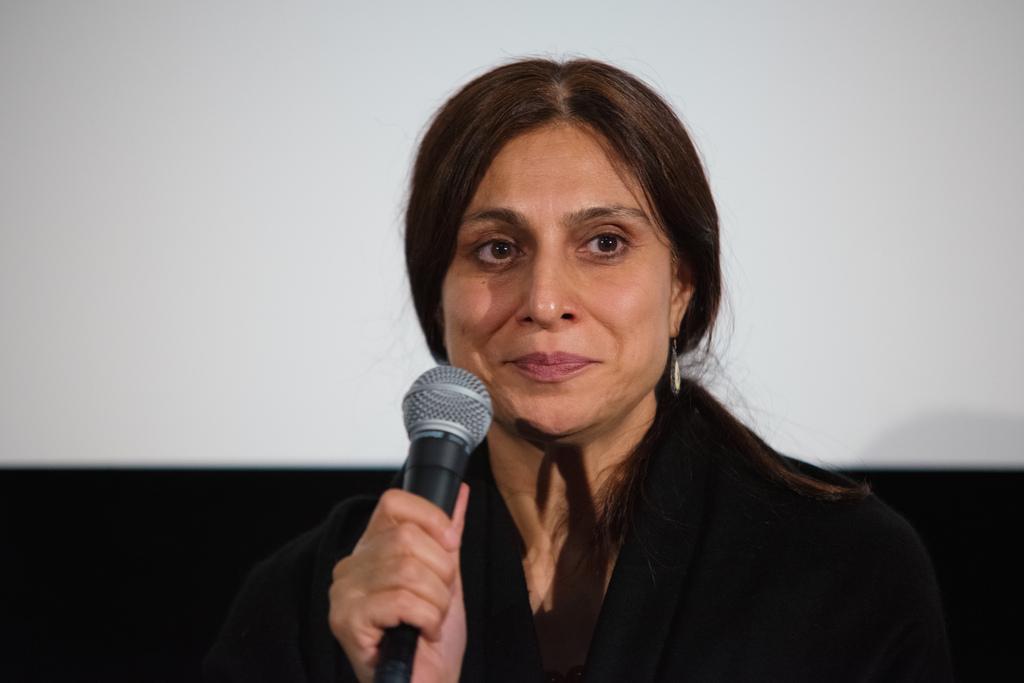 Iffat Fatima a Napoli per il terzo giorno di Festival del Cinema dei Diritti Umani