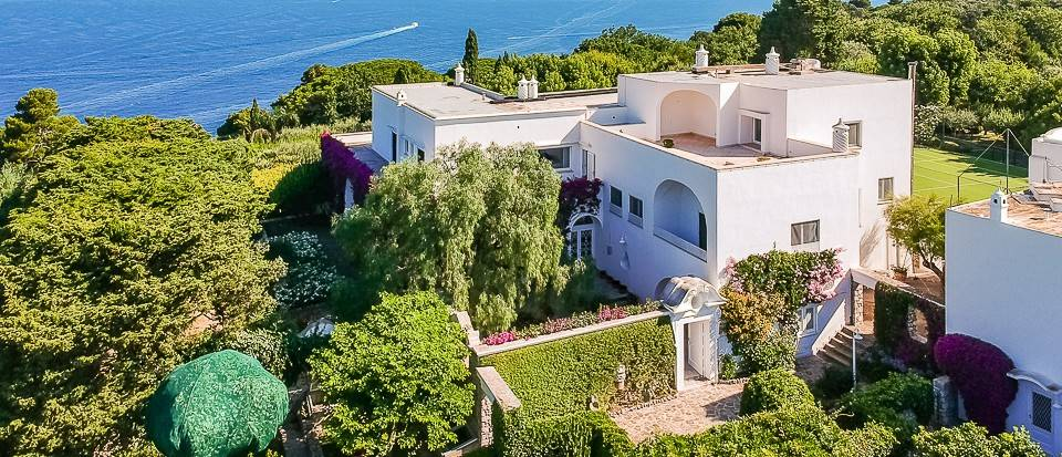 In vendita a Capri la villa che ospitò anche Totò