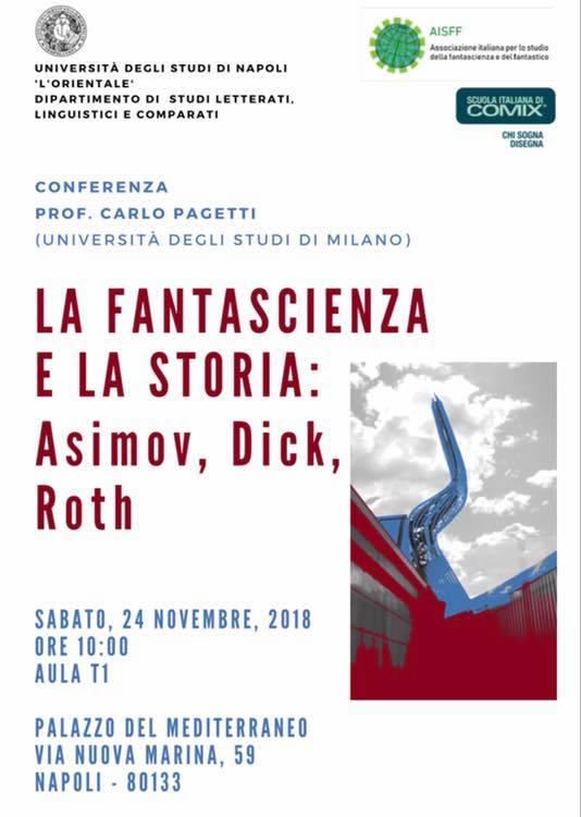L'Università L'Orientale di Napoli e la Scuola Italiana di Comix insieme per lo studio della fantascienza e del fantastico