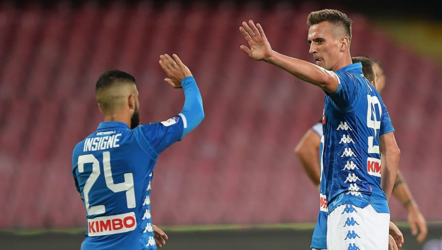 Calcio Napoli Milik