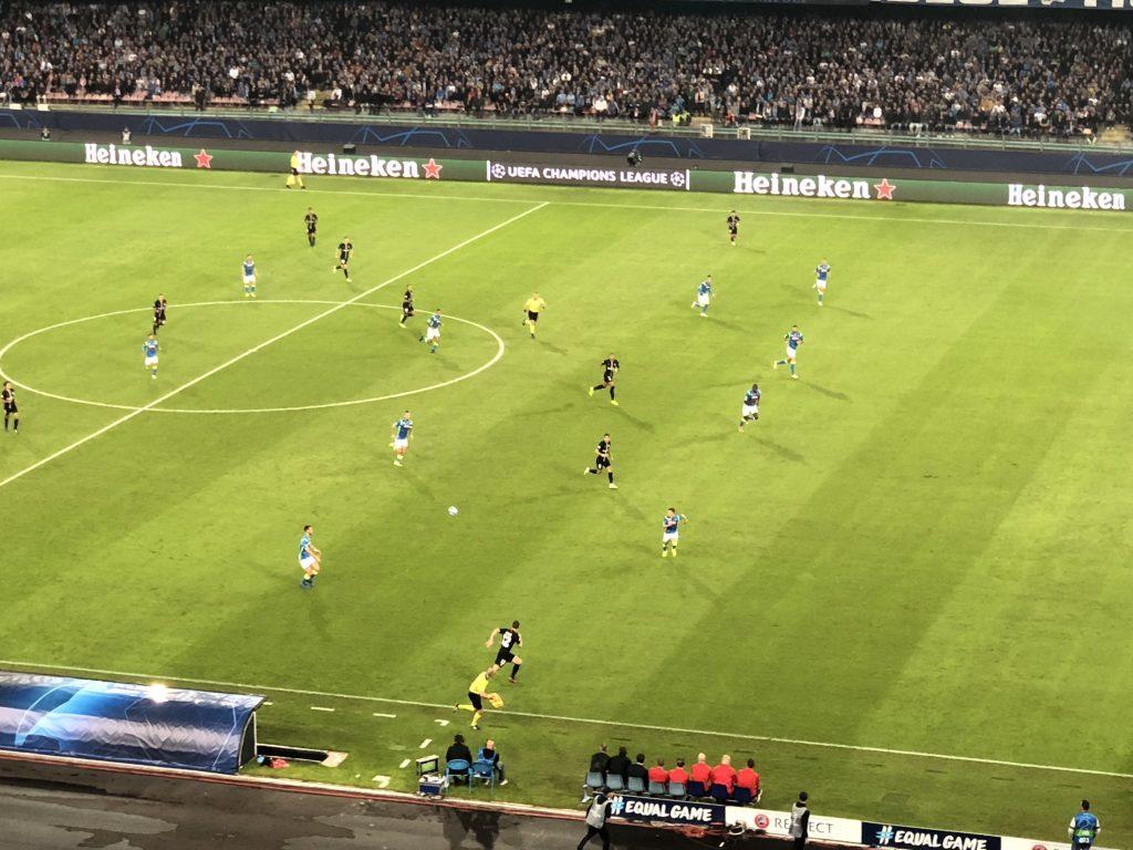 Calcio Napoli Champions League