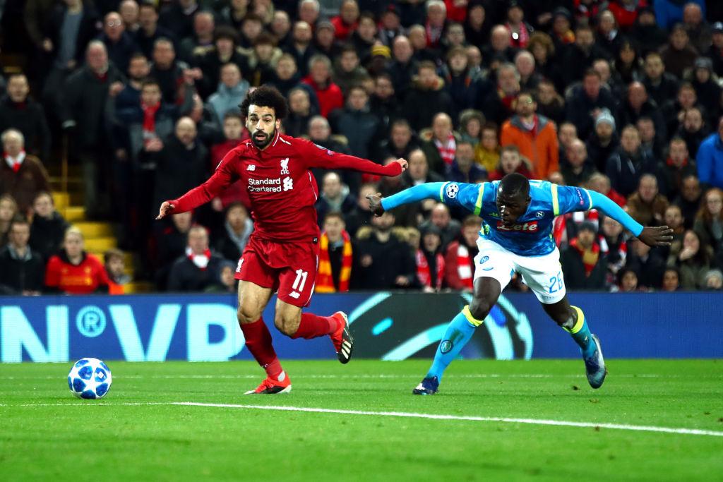 Liverpool-Napoli 1-0, decide Salah: azzurri fuori dalla Champions per un gol