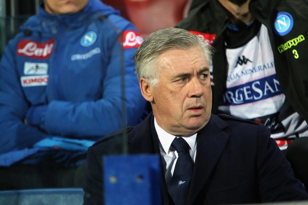 Cagliari-Napoli Ancelotti