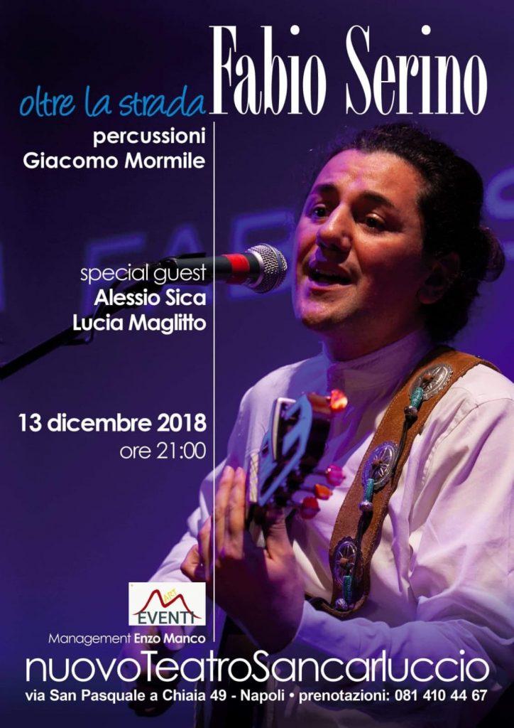Video-Intervista all'artista di strada Fabio Serino, giovedì 13 dicembre al Nuovo Teatro Sancarluccio di Napoli