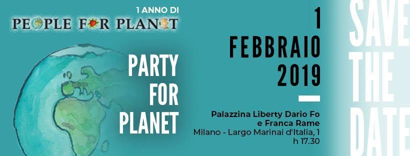 A Milano PARTY FOR PLANET, dibattiti e musica all'insegna del riuso