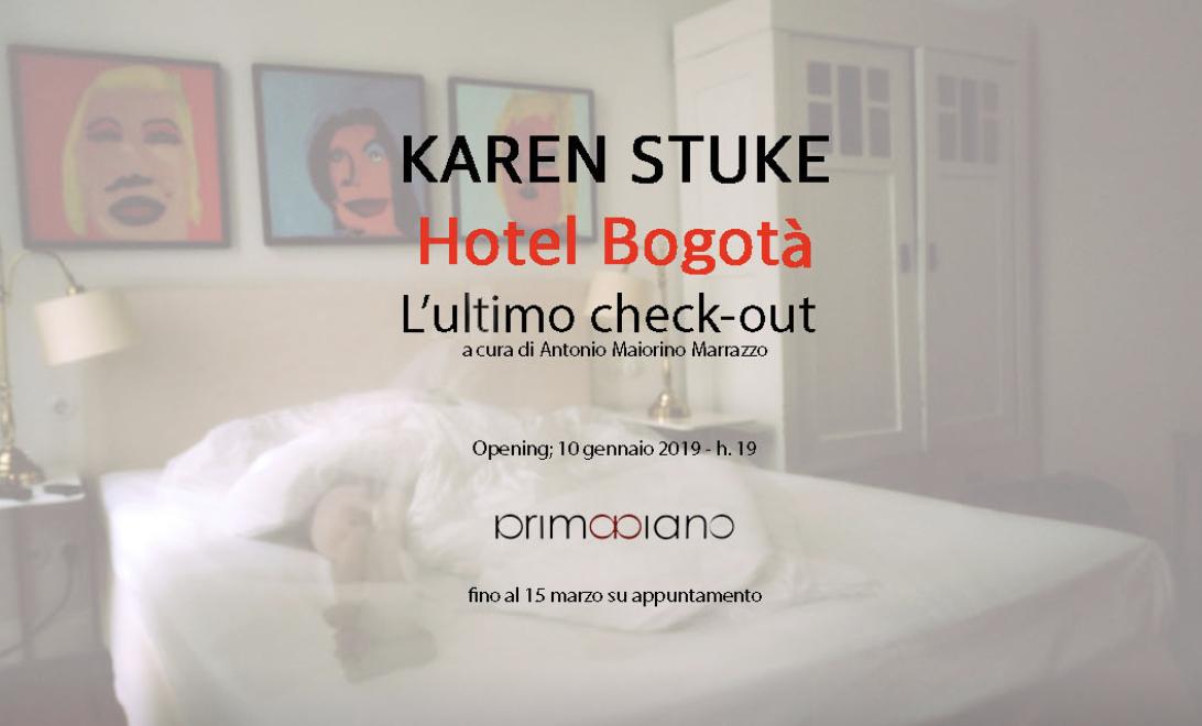 Hotel Bogotà The last check-out a cura di Antonio Maiorino Marrazzo