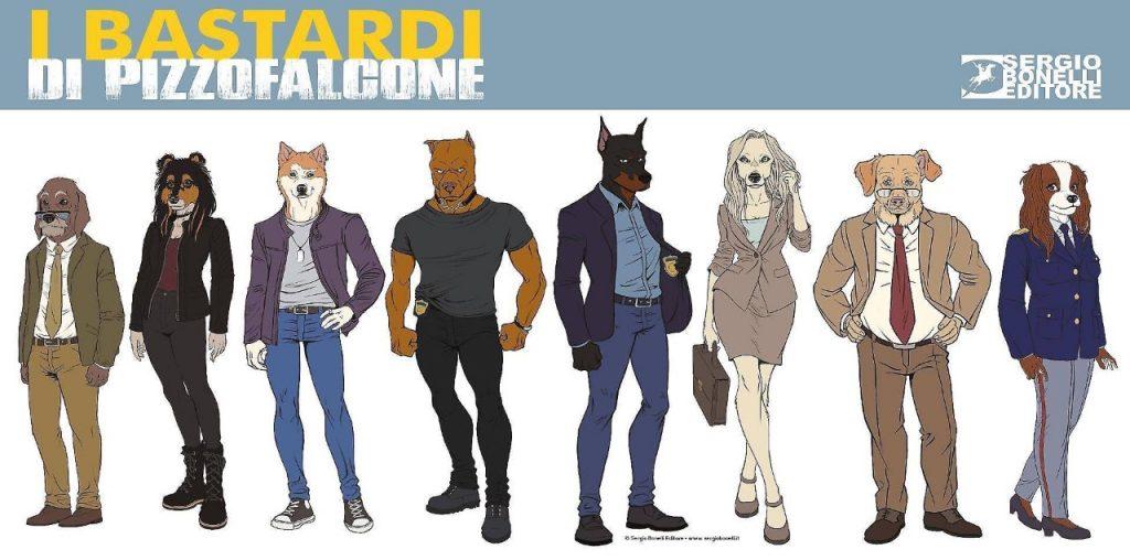 'I Bastardi di Pizzofalcone' a fumetti, l'ultima novità di Sergio Bonelli Editore in collaborazione con la Scuola Italiana di Comix