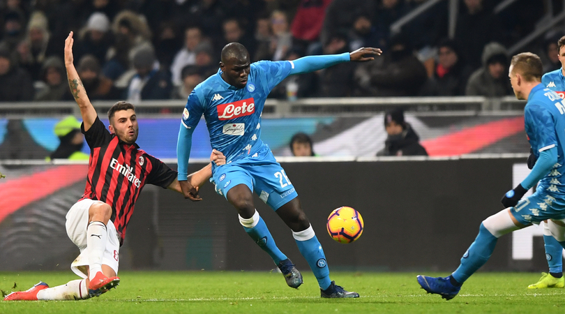 Napoli frenato dal Milan, a San Siro finisce 0-0: espulsi Fabian Ruiz e Ancelotti